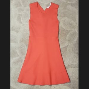 A.L.C. coral stretch jersey bodycon dress